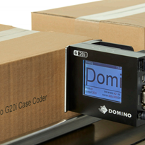Thermal Inkjet Coding | Domino G20i Outer Carton Coder