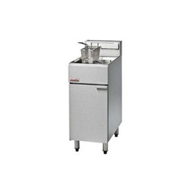 FF18 - 400mm Gas Deep Fryer - Single Pan
