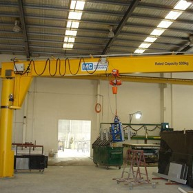 Motorised Slew JIB Crane