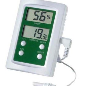 Digital Hygrometer | Therma-Hygrometer with Alarm