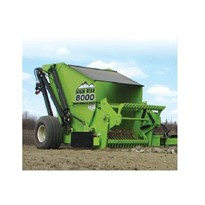 Plough, Hoe & Rake Attachment I Rock Pickers High Rise 8000