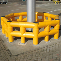 Column Protection | A-SAFE | Atlas Mast & Column Protector
