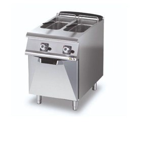 Gas Deep Fryer – Double Pan – Gas 2 x 10lt Pans -D7310/10 FRG