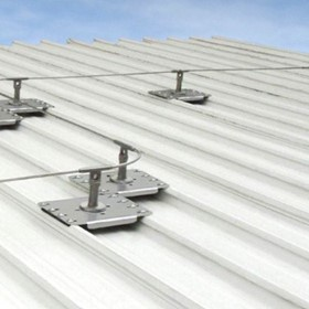 Horizontal Static Safety Lines for Height Safety and Roof Safety