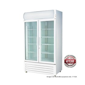 Two Glass Door Commercial Fridge | LG-1000GE