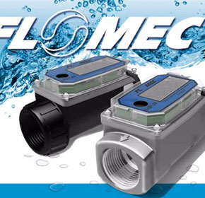 Electronic Digital Flowmeter | FLOMEC 02 Series