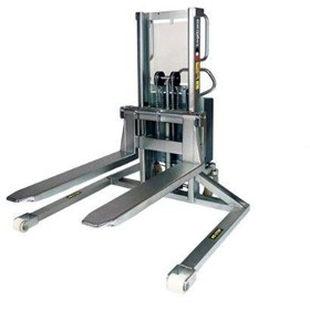 MAVERick Walkie Stackers | Electric stacker, Inox, with straddle legs