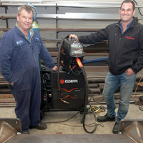 Local company achieves exceptional welding results with Kemppi FastMig