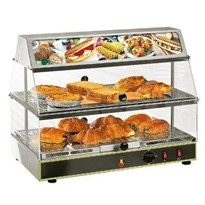 Roller Grill Heated Food Display - WD L 200