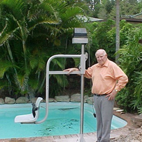 Pool Access Hoist Lifting Aid