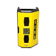 Allegro Heavy Duty Wall Case | Hi-Viz Single SCBA