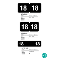 Medical Coding Identification Labels - Year