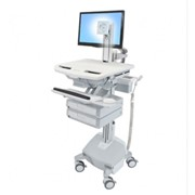 Telemedicines I StyleView SV44 Powered Medical Cart with LCD Pivot