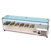 Atosa VRX Counter Top Refrigerated Prep Unit - 1205mm (1/4 Pans)