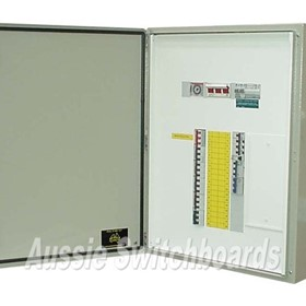 Distribution Panel Board Enclosure | Weatherproof 36/48 Pole Chassis