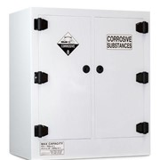 Poly Corrosive Storage Cabinet | 160 Litre Divided Sump - TSSCP160