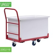 STURGO Big Bin Trolley With Tub | 12200219