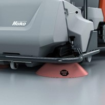 Hako Dust Stop for dust-reduced sweeping!