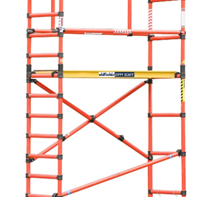 Fiberglass Guardrails for Zippy Scaff