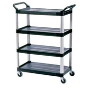 Rubbermaid Open Sided Xtra-Shelf Cart