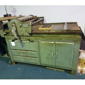 Used Letterpress Proofing Press for Die Cutting