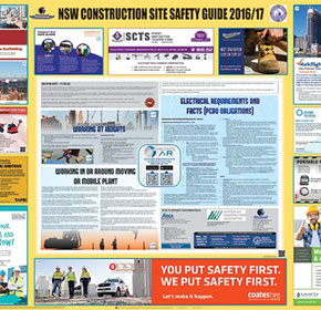 NSW Construction Site Safety Guide 2016/17