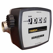 "4 digit 20-120LPM 1"" mechanical display flow meter for diesel"