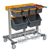 Cleaning Cart Workstation | TASKI® Midi Jonmaster™