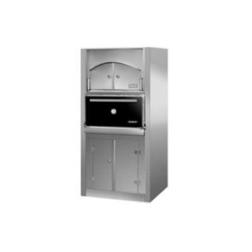 HJX50/L ACX-P Floor Standing With Hot Storage Charcoal Oven
