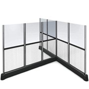 Railix | Wanzl - Wire & Glass Partition