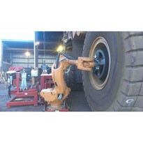 Haul Truck Wheel Changer