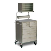 9 Drawers Anaesthetic Cart - SQ Series