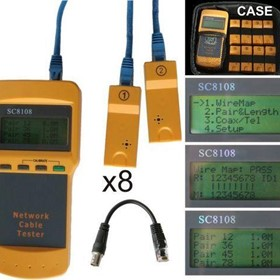 LCD Network Cable Tester | CT8108