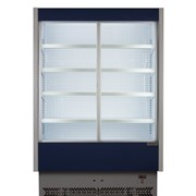 Sliding Doors Refrigerated Chilled Display Case | Vulcano 80/150