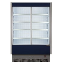 Sliding Doors Refrigerated Display Case | Vulcano 80/150