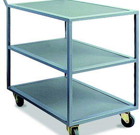 Industrial Trolley IT3T340  | Castors & Industrial