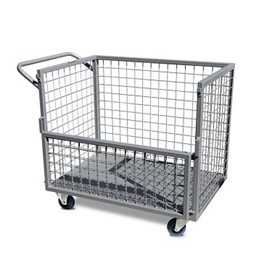 Industrial Caged Trolley | Castors & Industrial - ITC340