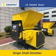 Waste Materials Single Shaft Shredder