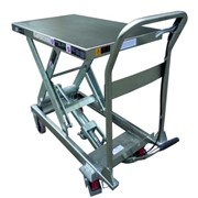 Stainless Steel Scissor Lift - 890mm High - TF50S