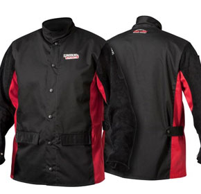 Welding Jackets | Shadow Leather Sleeved Jackets