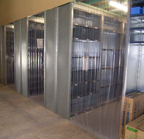 Clear PVC Strip Doors