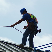 Roofing company fined after worker seriously injured in fall