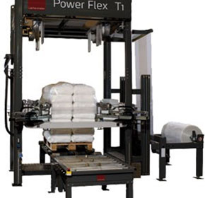 Stretch Hood Pallet Wrapping Machine | Lachenmeier Power Flex T1