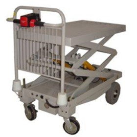 Powered Liftmate Scissor Lift Trolley