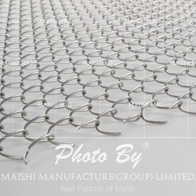 Stainless Steel Chain Link Fabric Fencing