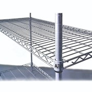 ATLAS 4 & 5 Shelf Wire & Plastic Mat Shelving Kits