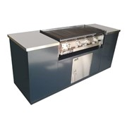 Commercial BBQ & Hotplate | Hercules Cabinet BBQ