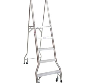 Monstar 5 Step Platform Ladder - 1.41m - Monstar