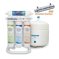 Home Reverse Osmosis System with UV | ERS-106UVP