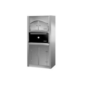 HJX45/L ACX-P Floor Standing With Hot Storage Charcoal Oven